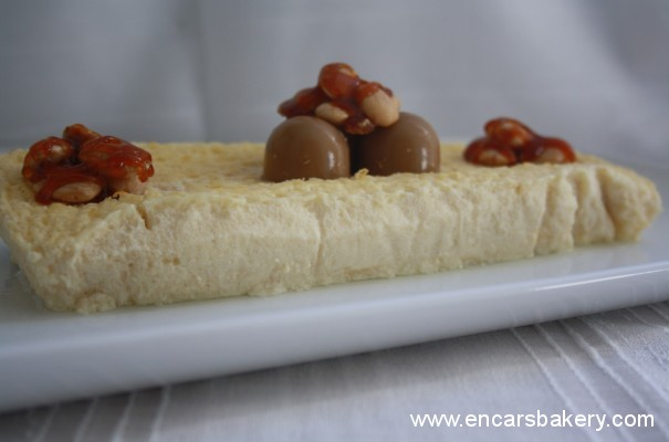 Tarta light de queso con gelatina de café