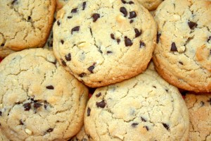 Cookies de chocolate y cacahuete