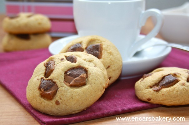 Galletas de café con chocolate mousse