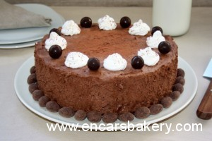 Tarta mousse de chocolate y mascarpone
